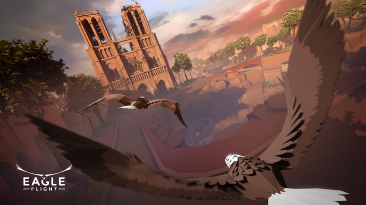 test jeu ubisoft eagle flight realite virtuelle