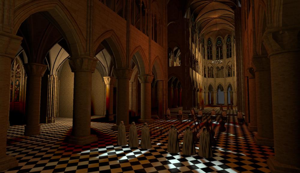 Ghost Orchestra son binaural réalité virtuelle Notre Dame de Paris