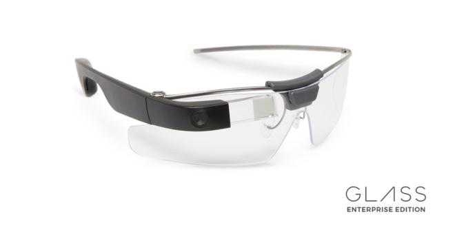 Le retour des lunettes connectées… pour les entreprises — Google Glass