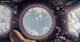 Google Street View Station Spatiale Internationale VR réalité virtuelle