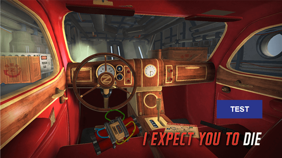 I Expect You To Die Test Jeu VR