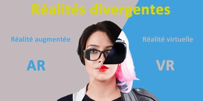 Infographie réalité virtuelle / réalité augmentée