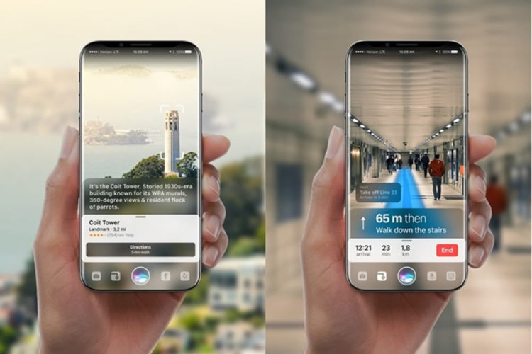 iPhone 8 : un possible capteur laser 3D au dos dédié à l'ARKit et à l'autofocus