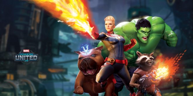 Marvel Powers United VR Oculus Disney