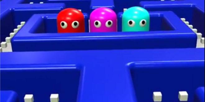 Pac-Man réalité augmentée AR ARKit