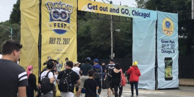 Le premier rassemblement officiel est un raté — Pokémon Go Fest