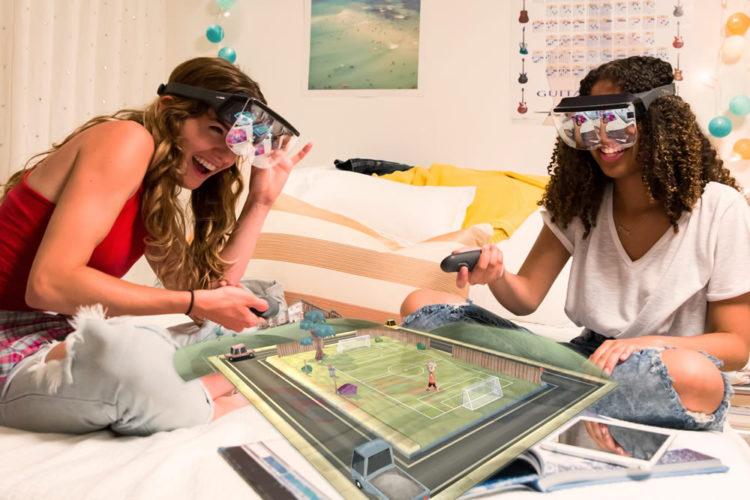 Prism casque de réalité augmentée mixte