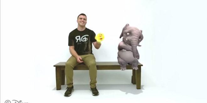 Réalité augmentée Disney Research expérience banc magique Magic Bench