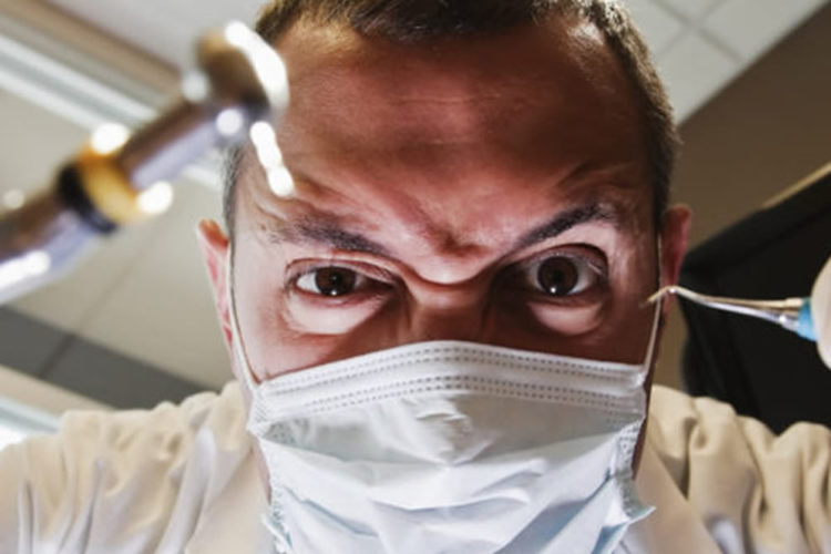 Réalité virtuelle dentiste