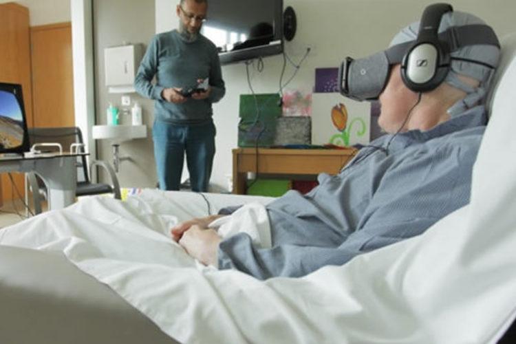 Réalité virtuelle lutte contre la douleur