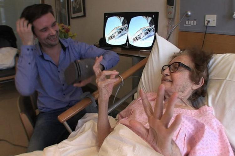 Réalité virtuelle patients fin de vie