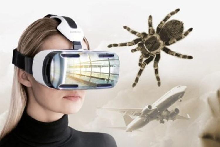 Réalité virtuelle phobies