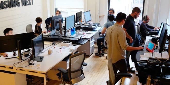Samsung Next bureaux en Europe