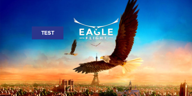 test eagle flight ubisoft jeu aigle realite virtuelle