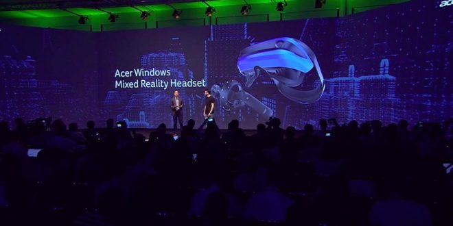 Acer Windows Mixed Reality présentation officielle