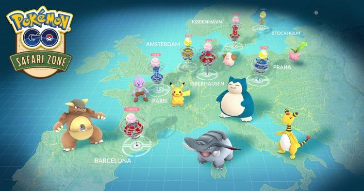 Pokemon Go événement anniversaire centre commercial