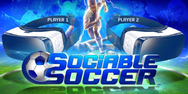 Sociable Soccer PS VR simulation de football