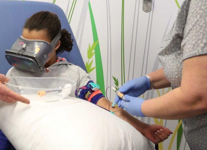 Etude Monash peur douleur aiguille enfants vr médicale réalité virtuelle, santé vr