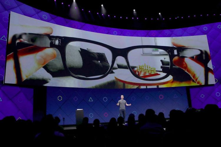 Brevet Oculus lunettes réalité mixte