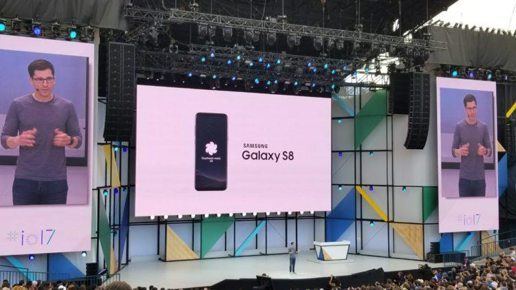 Le Samsung Galaxy S8 ajoute le support de la plateforme Daydream VR