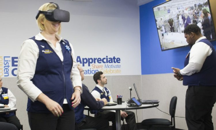 Formation réalité virtuelle STRIVR Walmart