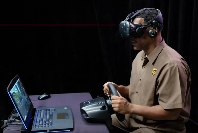 Formation chauffeurs UPS réalité virtuelle vr