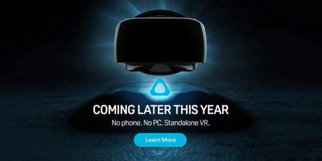 HTC casque réalité virtuelle autonome