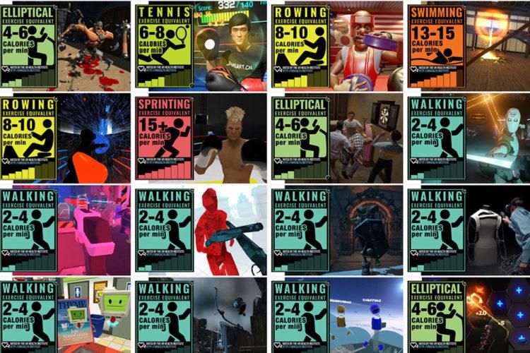 Jeux VR activité physique