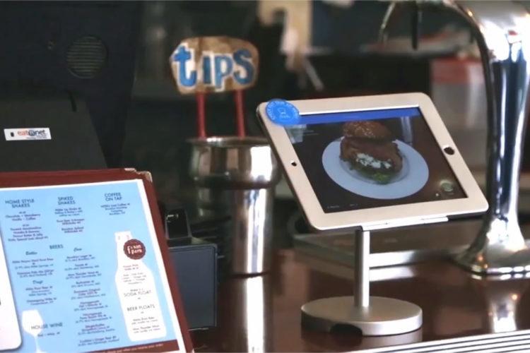 KabaQ menu restaurant réalité augmentée