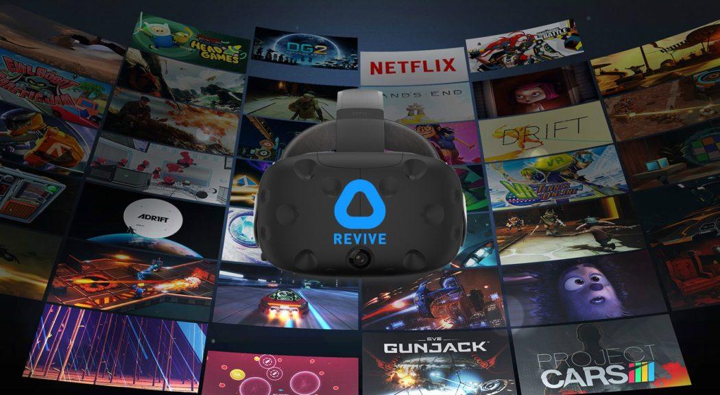 oculus revive htc vive tutoriel