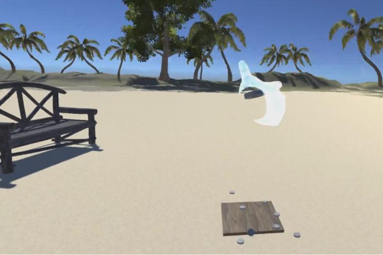 Palet breton VR Oculus Rift
