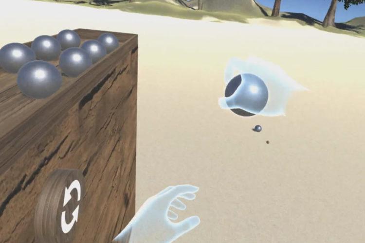 Pétanque VR Oculus Rift
