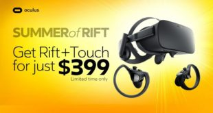 Promotion Pack Oculus Rift + Touch
