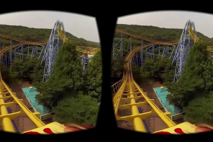 Réalité virtuelle affichage 4K