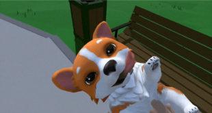 RoVR chien compagnie en réalité virtuelle