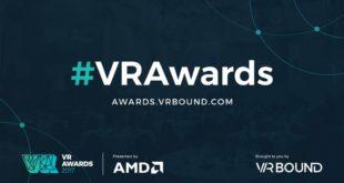 Vr awards, realité virtuelle, htc vive, oculus, vSport, eSport vr, London