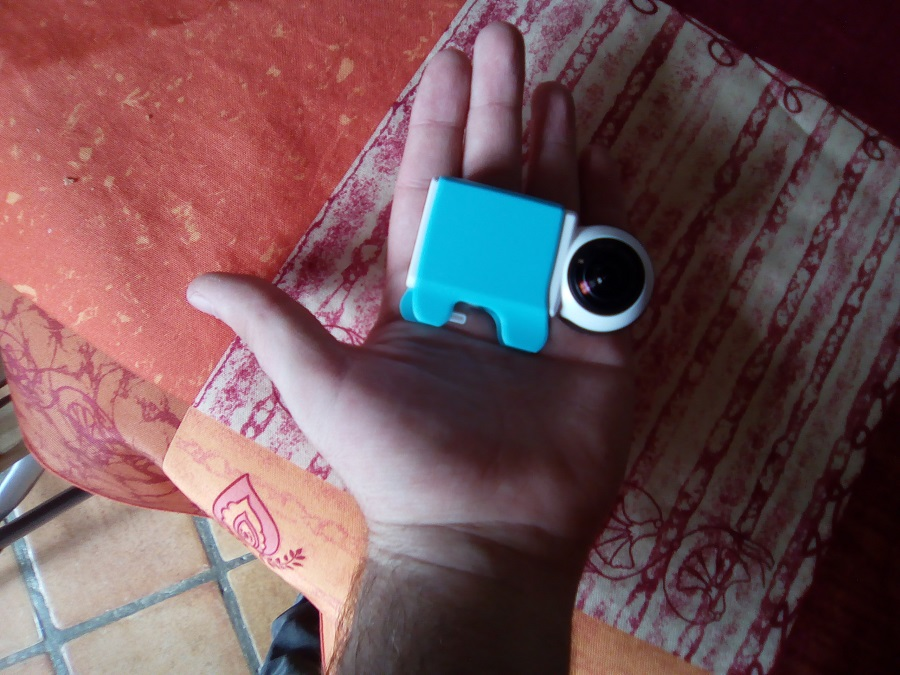 Test Giroptic iO Design et Ergonomie caméra