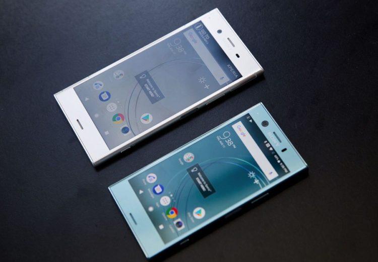 Sony Xperia XZ1 et XZ1 Compact smartphones numérisation 3D