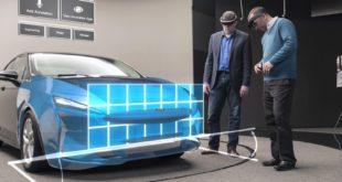 ford hololens industrie design réalité augmentée automobile