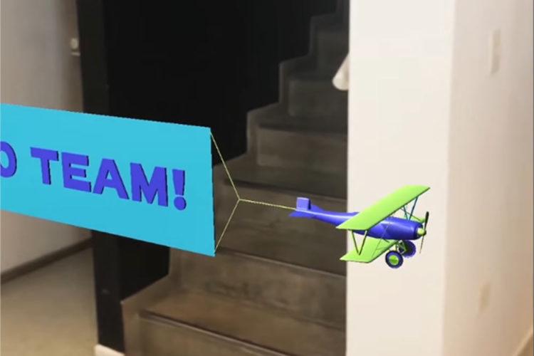 GIF animés applications AR