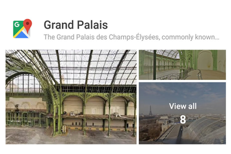 Google Street View VR réalité virtuelle
