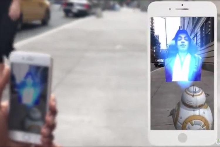 Holo Messenger Hologramme AR D2R2 Star Wars
