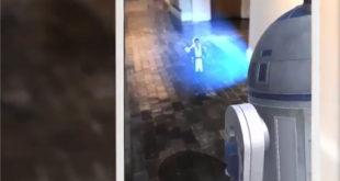 Holo Messenger hologramme réalité augmentée