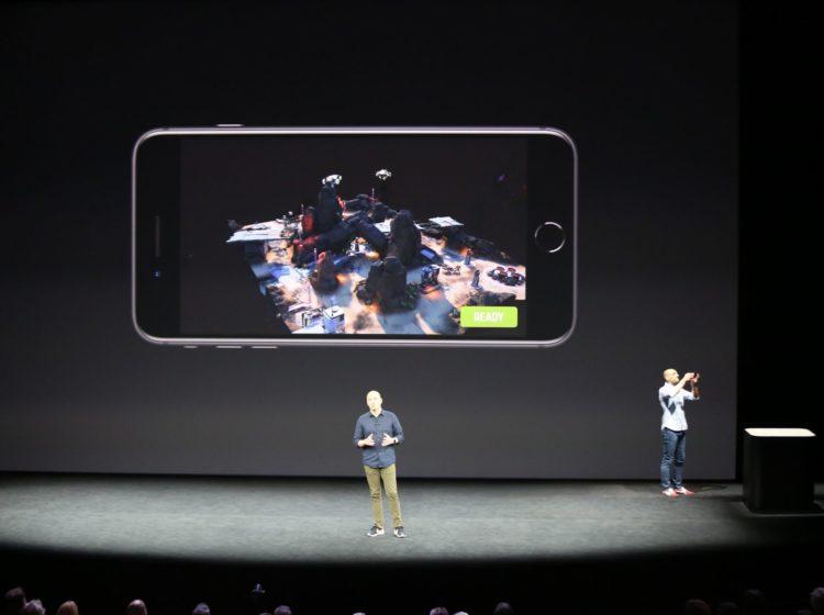 arkit apple machines ar réalité augmentée