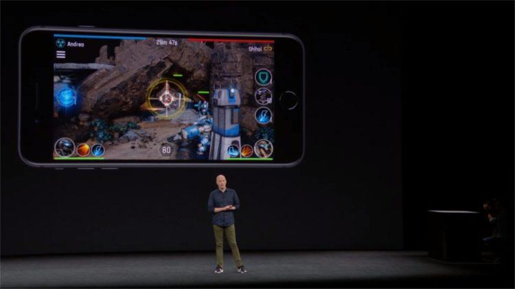 iPhone X AR