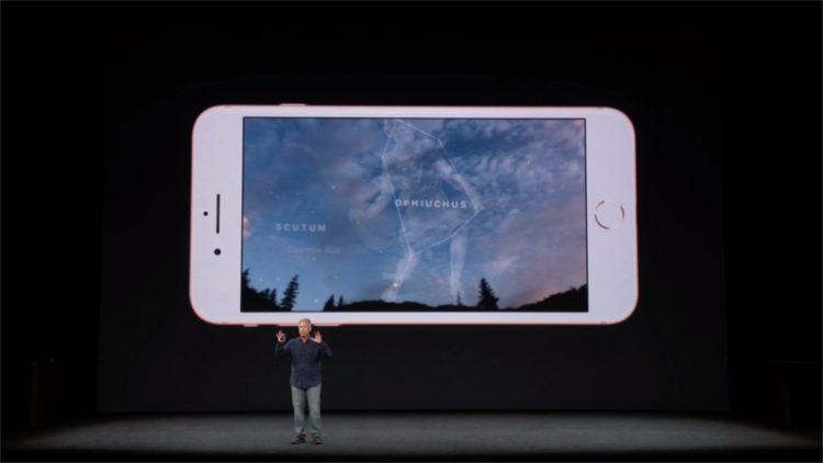iPhone X réalité augmentée