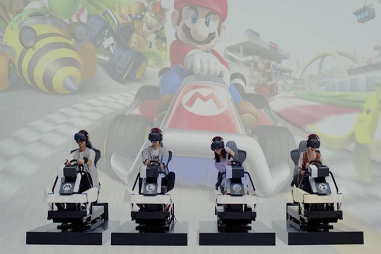 Jeux salles d'arcade VR