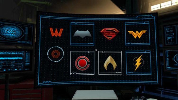 Justice League Vr expérience HTC