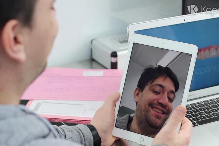Kapanu miroir réalité augmentée dentiste