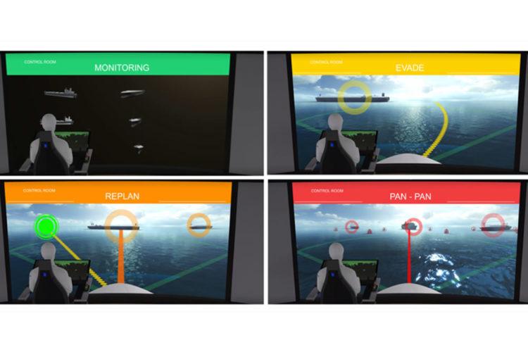 Navire autonome réalité virtuelle